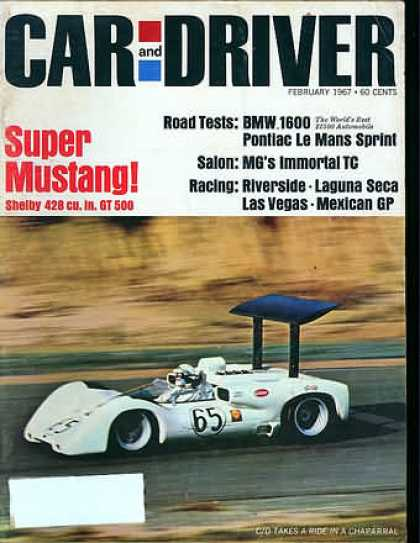 Car and Driver - February 1967
