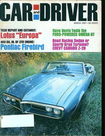 Car and Driver - March 1967