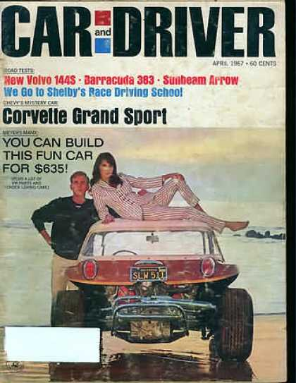 Car and Driver - April 1967