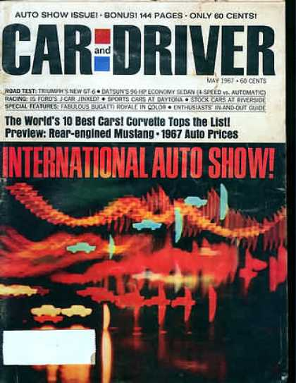 Car and Driver - May 1967