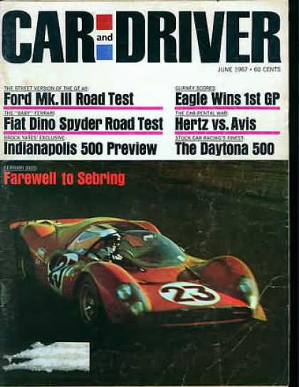 Car and Driver - June 1967