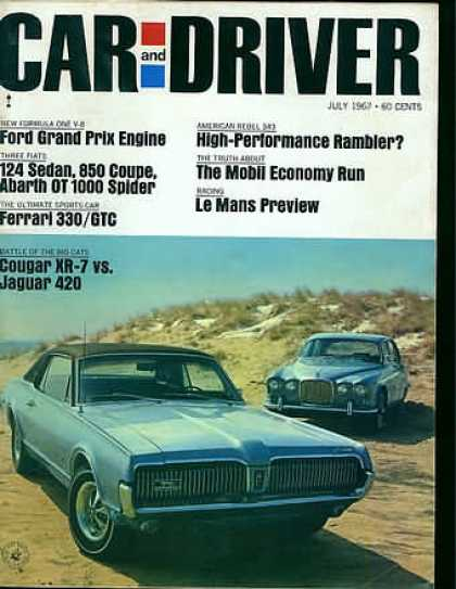 Car and Driver - July 1967