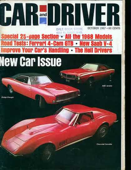 Car and Driver - October 1967