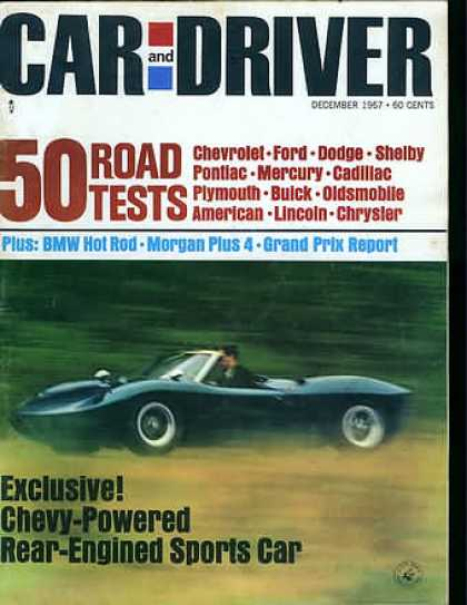 Car and Driver - December 1967
