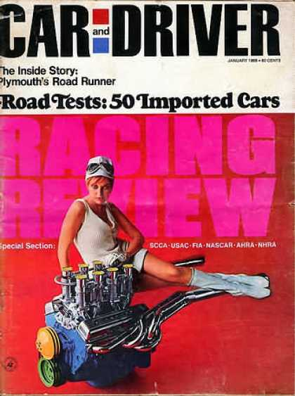 Car and Driver - January 1968