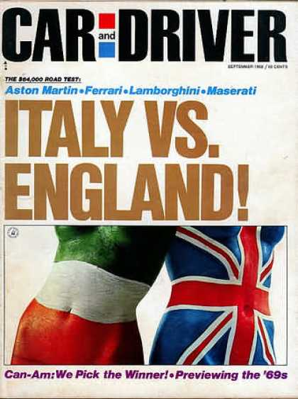 Car and Driver - September 1968
