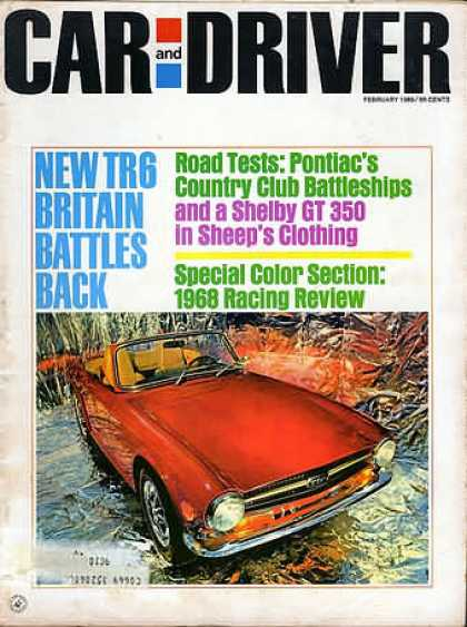 Car and Driver - February 1969