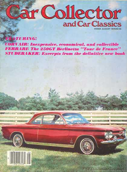 Car Collector - August 1979