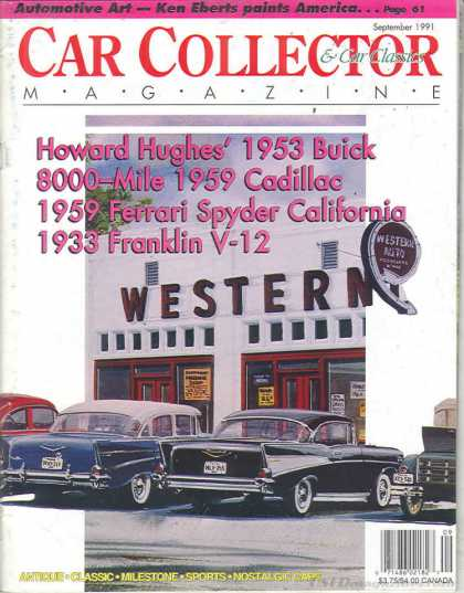 Car Collector - September 1991