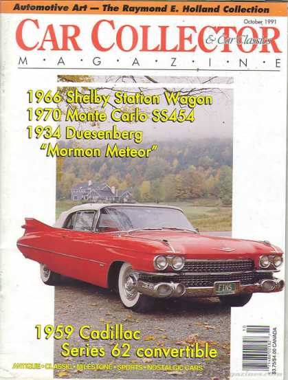 Car Collector - October 1991