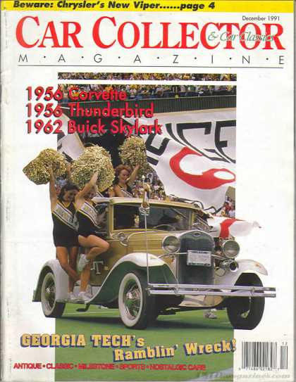 Car Collector - December 1991