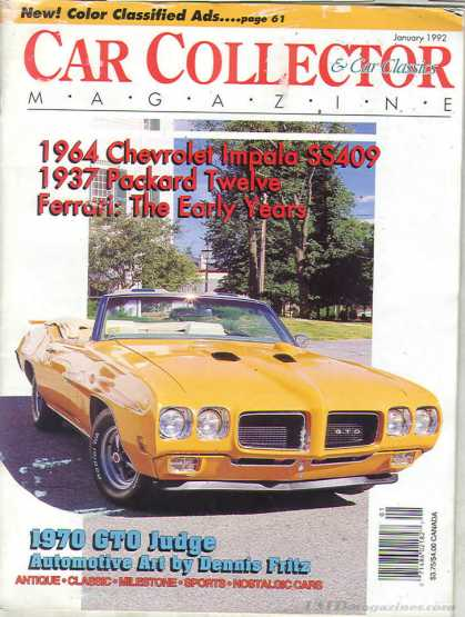 Car Collector - January 1992