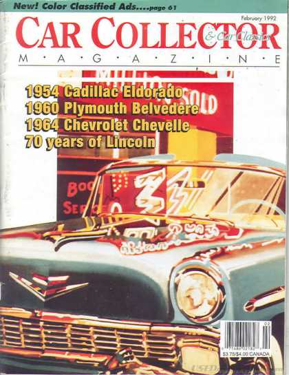 Car Collector - February 1992