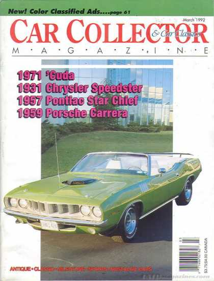 Car Collector - March 1992
