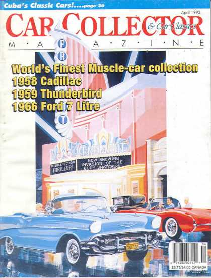 Car Collector - April 1992