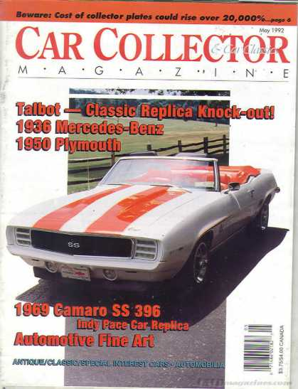 Car Collector - May 1992