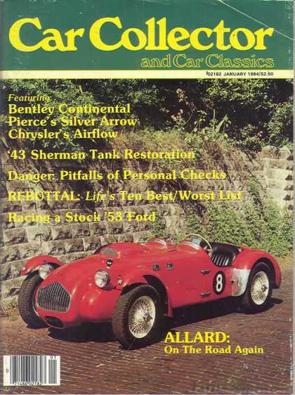 Car Collector - January 1984