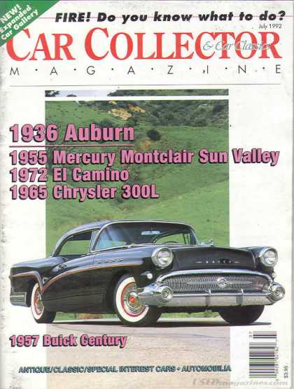 Car Collector - July 1992
