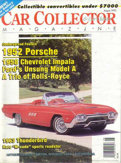 Car Collector - August 1992