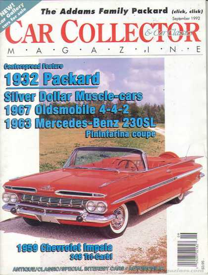 Car Collector - September 1992
