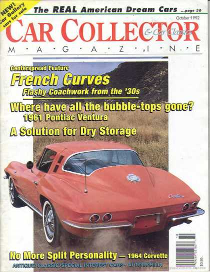 Car Collector - October 1992