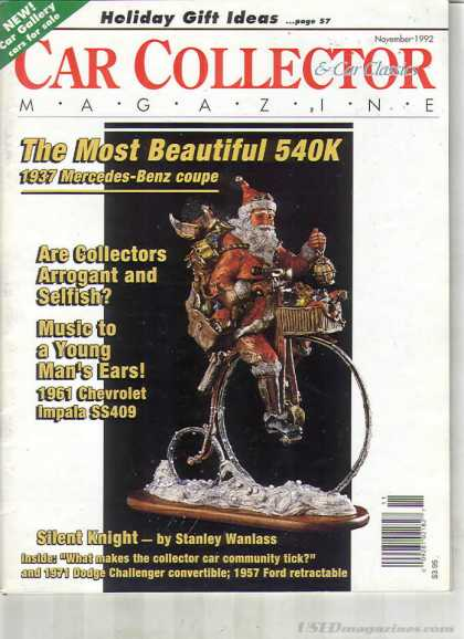 Car Collector - November 1992