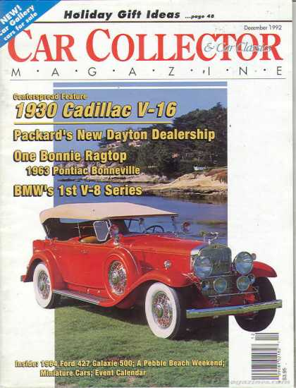 Car Collector - December 1992