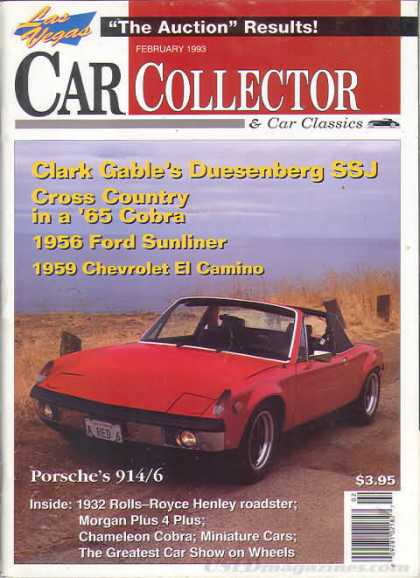 Car Collector - February 1993