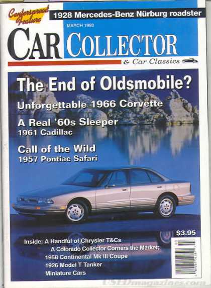 Car Collector - March 1993