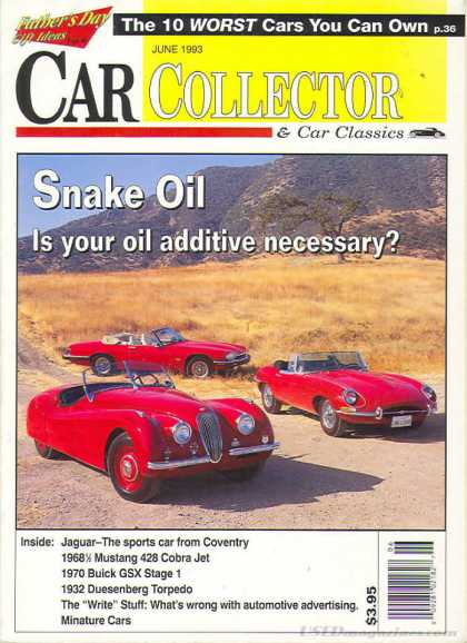 Car Collector - June 1993