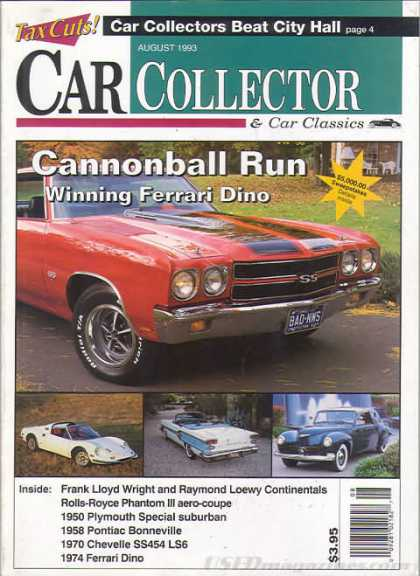 Car Collector - August 1993
