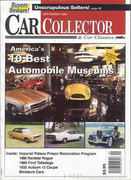 Car Collector - September 1993