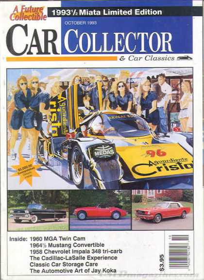 Car Collector - October 1993