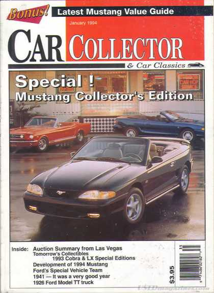 Car Collector - January 1994