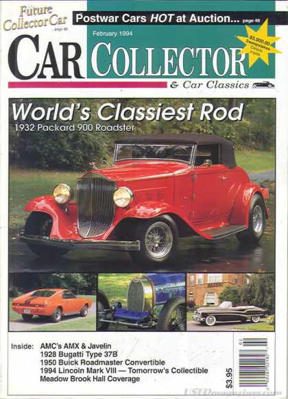 Car Collector - February 1994