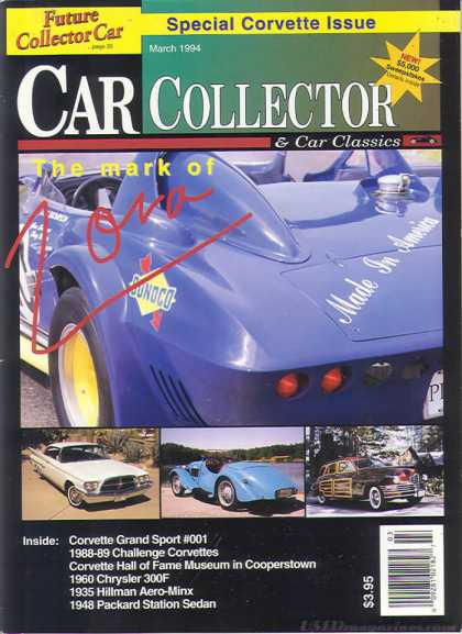 Car Collector - March 1994
