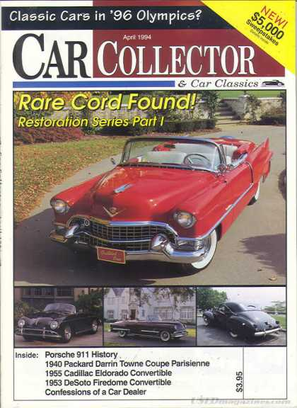 Car Collector - April 1994