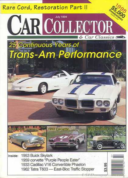 Car Collector - July 1994