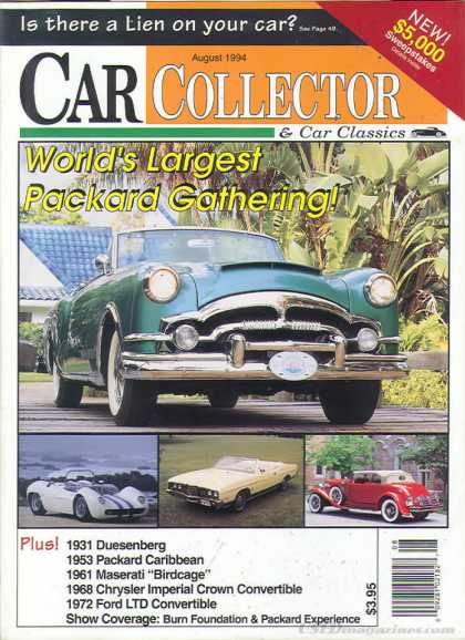 Car Collector - August 1994