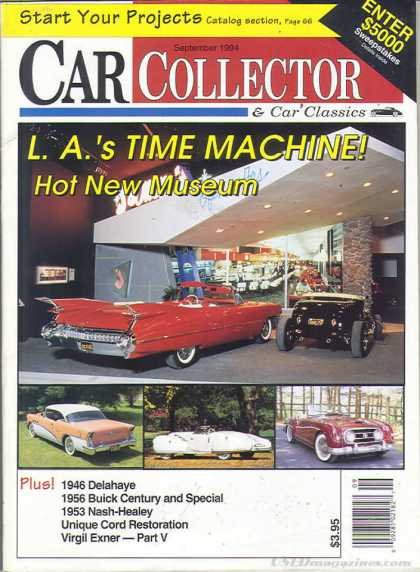 Car Collector - September 1994