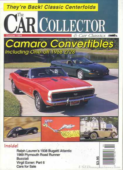 Car Collector - October 1994