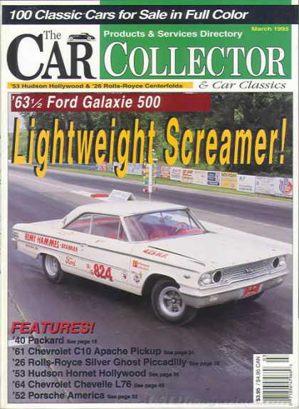 Car Collector - March 1995