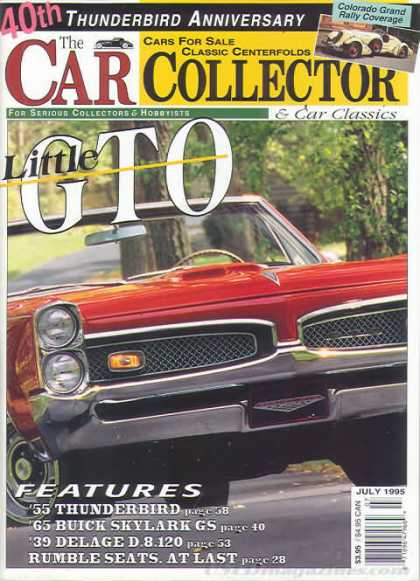 Car Collector - July 1995