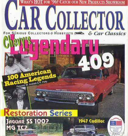 Car Collector - March 1996