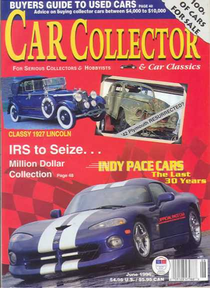 Car Collector - June 1996