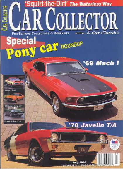 Car Collector - July 1996