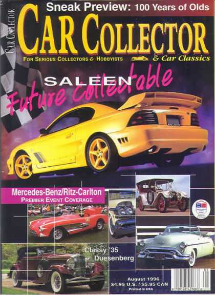 Car Collector - August 1996