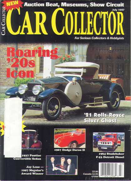 Car Collector - July 1997