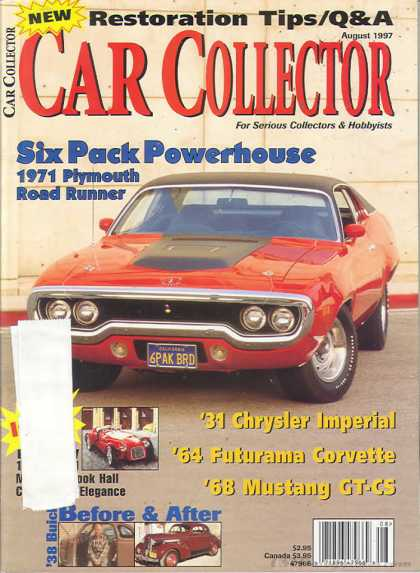 Car Collector - August 1997