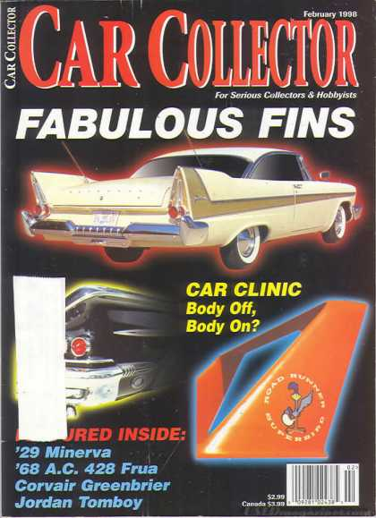 Car Collector - February 1998